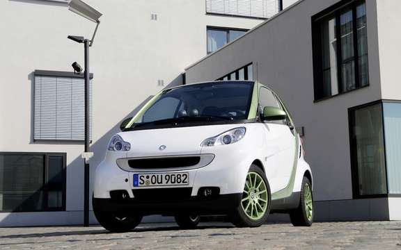 Smart Fortwo 'Electric Drive'sera offered in 2012 picture #4