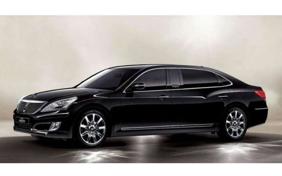 Hyundai Equus Limousine: in regular and armored versions picture #2