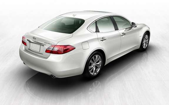 Infiniti M35 Hybrid: First Hybrid model of the brand picture #2
