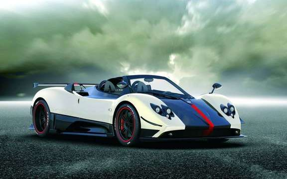 Pagani Zonda Cinque Roadster, the Machiavellian cabrio