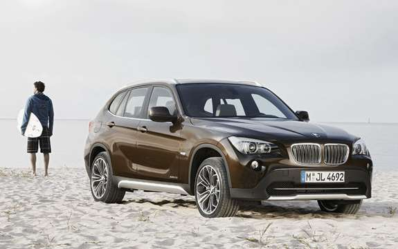 BMW X1 2010: Premiere photo gallery authorized