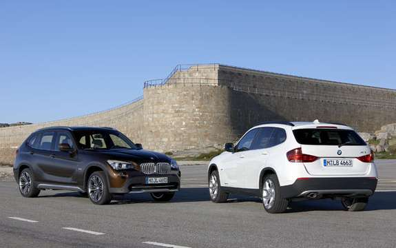BMW X1 2010: Premiere photo gallery authorized picture #3