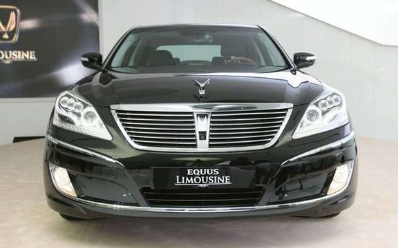 Hyundai Equus Limousine: in regular and armored versions picture #4