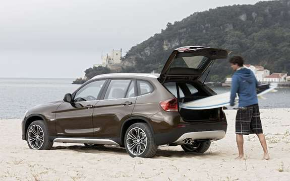 BMW X1 2010: Premiere photo gallery authorized picture #5