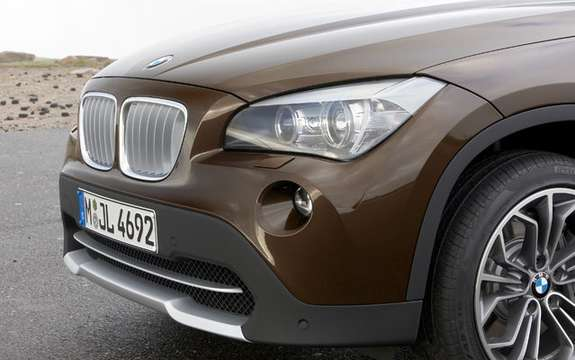 BMW X1 2010: Premiere photo gallery authorized picture #6