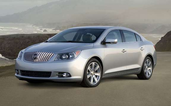 GM Canada presents its new 2010 Buick Allure