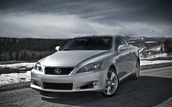 Cuts hardtop convertibles has Lexus IS 250 C and IS 350 C, now available
