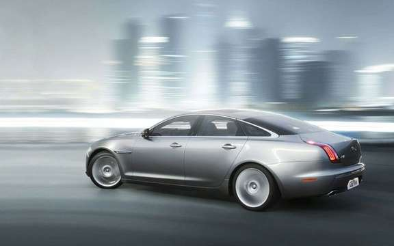 Jaguar XJ 2010, here is the new flagship of the brand Columbia picture #4