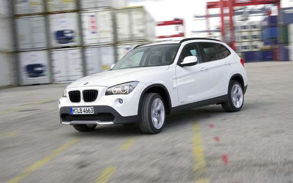 bmw x1 2010 premiere photo gallery authorized. Black Bedroom Furniture Sets. Home Design Ideas
