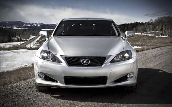 Cuts hardtop convertibles has Lexus IS 250 C and IS 350 C, now available picture #2