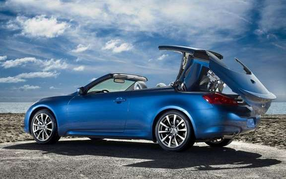 2009 Infiniti G37 Convertible, announces its colors and prices picture #3