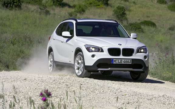 BMW X1 2010: Premiere photo gallery authorized picture #11
