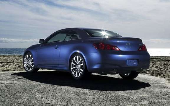 2009 Infiniti G37 Convertible, announces its colors and prices picture #4
