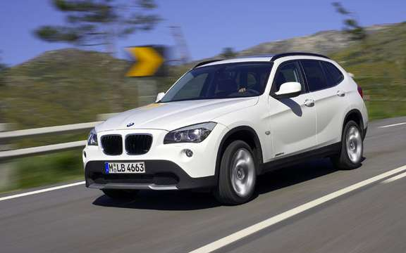 BMW X1 2010: Premiere photo gallery authorized picture #12