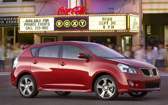 Pontiac Vibe, end of announced production picture #2