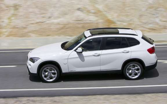 BMW X1 2010: Premiere photo gallery authorized picture #13