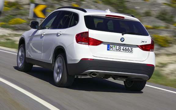 BMW X1 2010: Premiere photo gallery authorized picture #15