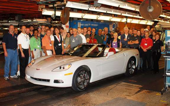 The Chevrolet Corvette, has produced more than 1.5 million copies