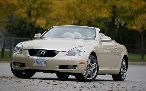 Lexus SC430 2010: it was thought at the end of career