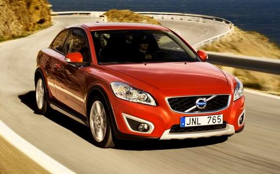 Volvo C30 2010: a new grille!