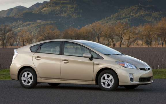 The Toyota Prius, still the best-selling car in Japan