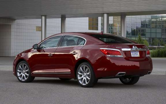 2010 Buick LaCrosse: ca really more 'Allure' picture #2