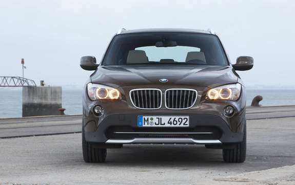 BMW X1 2010: Premiere photo gallery authorized picture #21
