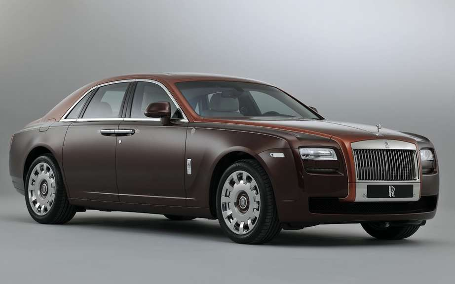 Rolls Royce Ghost V-Spec ... A sporty Rolls? picture #2