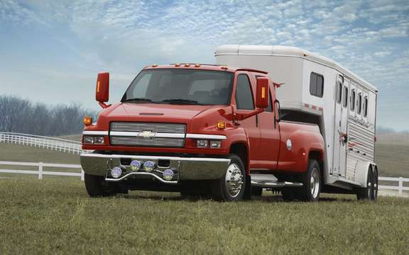 The Chevrolet Kodiak and GMC Top Kick derive their reverence picture #2