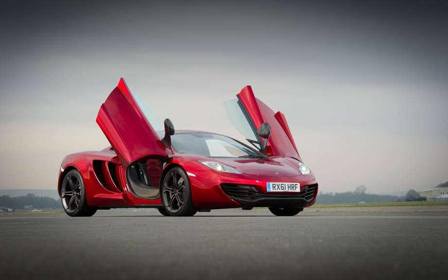 This is the end for the McLaren MP4-12C picture #6