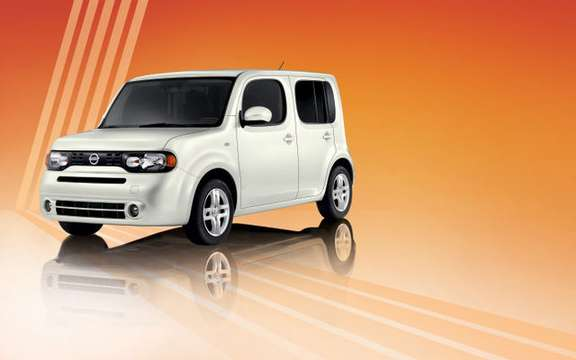 Nissan Canada unveiled its list of accessories to customize the Cube