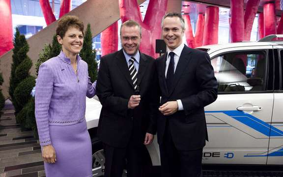 Ford and Hydro-Quebec collaborate in development of electric cars picture #2