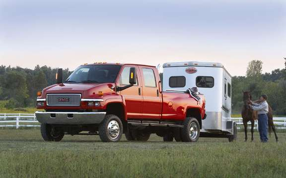 The Chevrolet Kodiak and GMC Top Kick derive their reverence picture #3