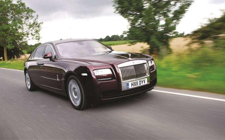 Rolls Royce Ghost V-Spec ... A sporty Rolls? picture #5