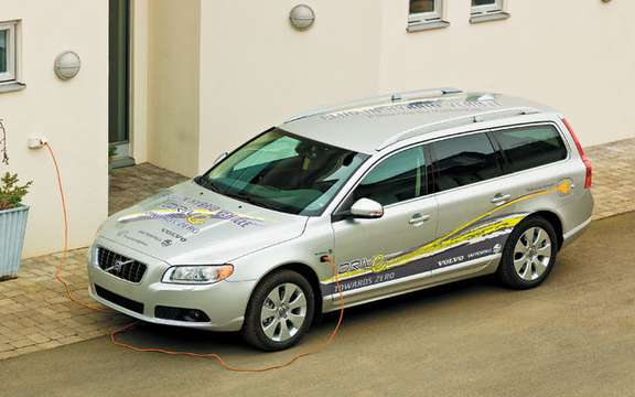 Volvo and Vattenfall join forces to develop hybrid vehicles and plug-in