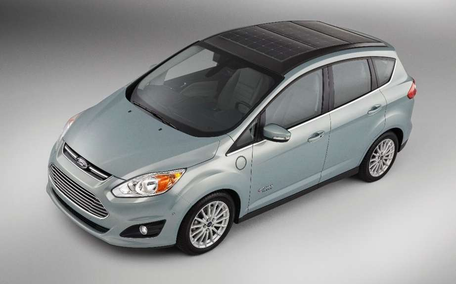 Ford C-Max solar power picture #8