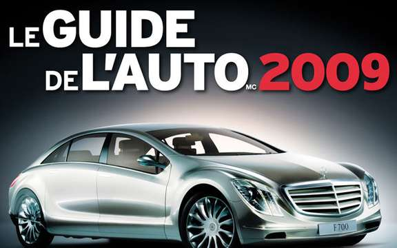Discover the Guide de l'auto 2009 online!