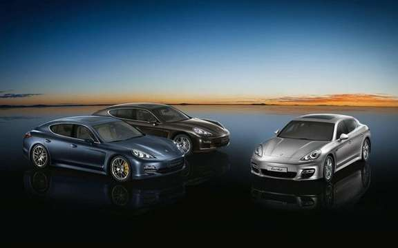 Partnership between Pirelli and Porsche Panamera tires
