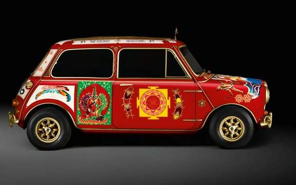 Mini celebrates 50 years of existence of very original way picture #3