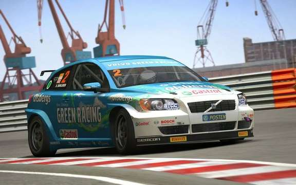 Volvo 'The Game', a video game racing free for PC