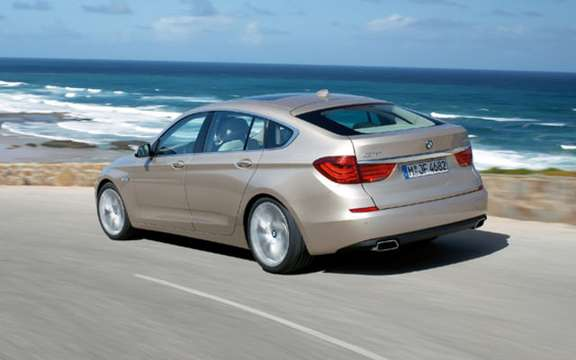 Serie5 BMW Gran Turismo, the answer to the Audi A5 Sportback picture #2