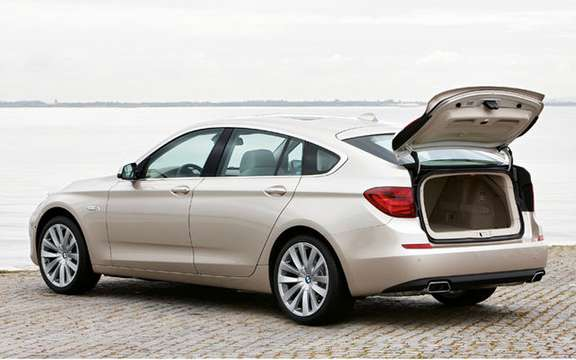 Serie5 BMW Gran Turismo, the answer to the Audi A5 Sportback picture #3