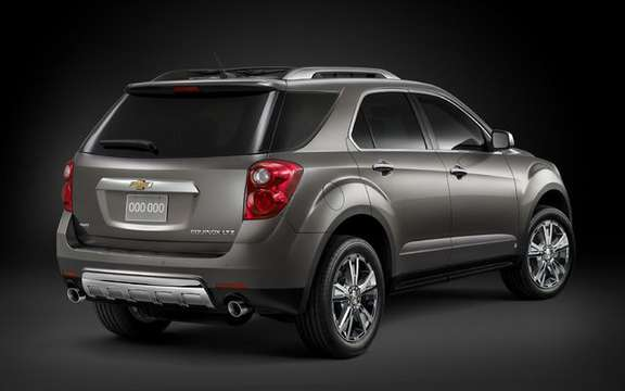 Chevrolet Equinox 2010, a second generation very expected picture #2