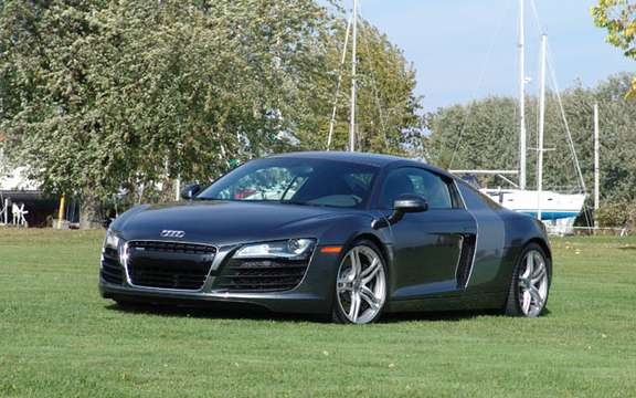 Audi R8 V12 TDI, no question of producing the most beautiful Eco fireball. picture #2