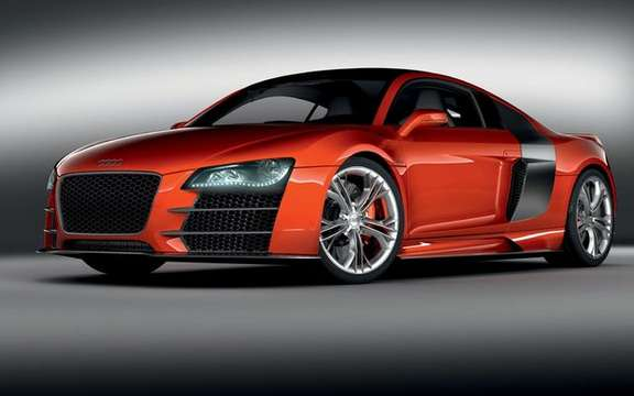 Audi R8 V12 TDI, no question of producing the most beautiful Eco fireball. picture #3