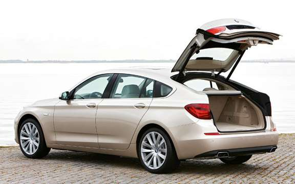 Serie5 BMW Gran Turismo, the answer to the Audi A5 Sportback picture #4