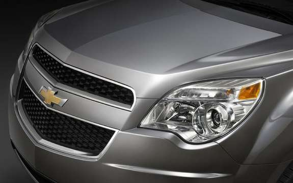 Chevrolet Equinox 2010, a second generation very expected picture #3