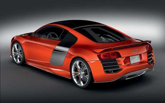 Audi R8 V12 TDI, no question of producing the most beautiful Eco fireball. picture #4