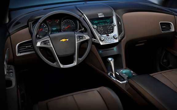 Chevrolet Equinox 2010, a second generation very expected picture #6