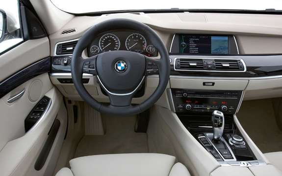 Serie5 BMW Gran Turismo, the answer to the Audi A5 Sportback picture #8